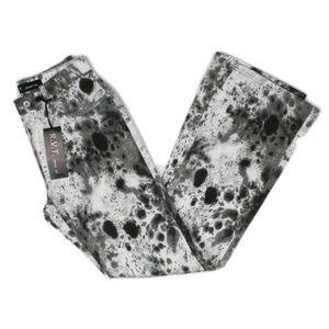 Revolt Jeans Black and Gray Paint Splatter